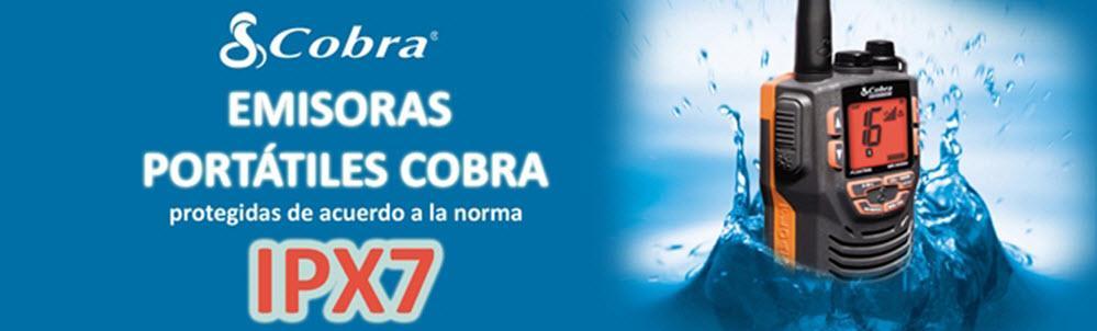 Emisoras portátiles Cobra