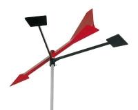 Veleta Tempest 12 - - Peso : 36 g. - Alto : 300 mm - Fijaci�n: Lateral o sobre el m�stil - Materiales: ABS y aluminio. - Sistema de rotaci�n: Eje