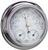 Barometro Termo-Higrometro Cromado. Esfera 120 mm