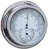 Termo-Higrometro Cromado. Esfera 120 mm