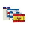 KIt Juego de Banderas Reglamentarias - Kit juego de banderas reglamentarias. Bolsa que contiene 3 banderas: N, C y España con corona.