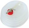 Bidon plegable con grifo para agua. Capacidad 5 litros - Bid�n plegable con grifo, para almacenar l�quidos en un m�ximo de 5 litros. Una vez vac�o puede plegarse para que no ocupe espacio Capacidad: 5 Litros
