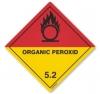 Etiqueta de Se�alizaci�n IMDG Clase 5.2: Organic Peroxide - Etiqueta de se�alizaci�n para mercancias peligrosas. Material vinilo Autoadhesivas de 300x300 mm para contenedores. Material autoadhesivas de 100x100 mm para cargas individuales