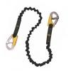 Linea de vida elastica de 100 a 180 cm para arneses de seguridad