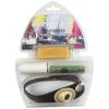 Kit para Reparacion de velas - Kit para reparaci�n de velas y toldos. Contiene: - Una manopla de cuero con refuerzo para empuje de agujas - Un carrete de hilo - 5 agujas surtidas - Una pastilla de cera de abejas
