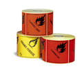 Etiqueta de Se�alizaci�n IMDG para cargas individuales - Etiqueta de se�alizaci�n para mercancias peligrosas. Material polipropileno Autoadhesivas de 100x100 mm para cargas individuales