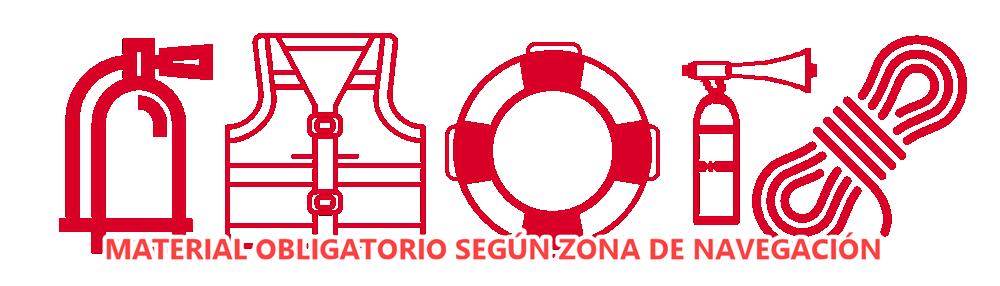 MATERIAL OBLIGATORIO DE SALVAMENTO