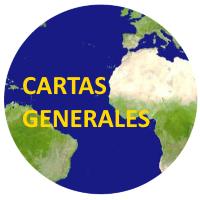 Cartas Nauticas Generales Atlantico y Mediterraneo