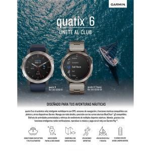 Garmin - Lanzamiento quatix 6