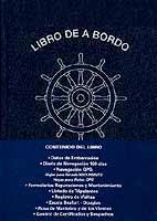 Libro de A Bordo 120 días - Cuaderno de Bitácora - Edición Española 2004.   383 páginas .   28 x 18 cm.   Cartoné