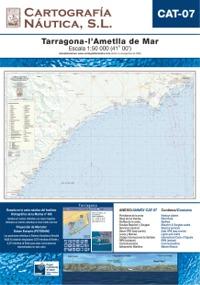 Carta Nautica CAT-07. Tarragona - L´Atmella de Mar
