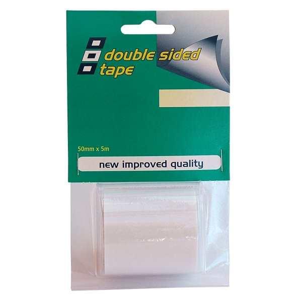 Cinta adhesiva PSP de doble cara 50 mm x 5 m - Cinta adhesiva resistente de doble cara para docenas de reparaciones temporales y permanentes a bordo.   Ideal también para colgar cuadros o placas en su embarcacion.