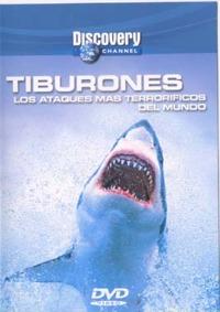 Tiburones - DVD - Los Ataques más terroríficos del mundo.   Duración: 52 min. .   Idiomas: Español.   Sistema: PAL