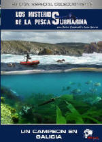 Pesca submarina vol. 6 - Un campeon en Galicia - En este documental podréis visionar las técnicas que utilizan nuestros protagonistas, realizando espectaculares salidas de pesca submarina en las salvajes y agitadas aguas de la costa gallega...