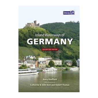 Inland Waterways of Germany  - Edición inglesa  - 2016 Autores:Barry Sheffield. C & J Best & R Thomas