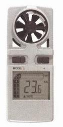 Anemómetro / Termómetro digital Wind Meter - Anemómetro digital de bolsillocon calculo de la temperatura según la velocidad del viento.