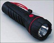 Linterna Krypton Estanca 2xR20 - Cuerpo de Caucho - Longitud: 210 mm .   Potencia: 3 W .   Diámetro óptica: 48 mm .   Alimentación: 2 pilas 1,5 V, tipo R20.