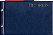 Navigators Log Book - Edición Inglesa.   50 páginas .   26 x 17 cm.   Cartoné