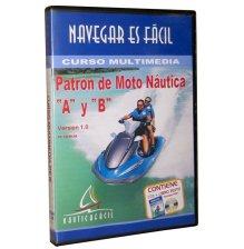Curso Multimedia Patrón de Moto Náutica - Nauticafacil - La herramienta indispensable para comprender y asimilar los conocimientos necesarios para la titulaciónes de Patrón de Moto Náutica