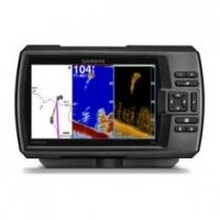 Garmin STRIKER™ 7cv. Sonda CHIRP con GPS - Sonda a color de 17,8centímetros (7pulgadas) fácil de usar con GPS de alta sensibilidad incorporado y sonda de exploración CHIRP DownVü™ de Garmin.   Incluye el transductor GT20 de Garmin con CHIRP (77/200kHz); potencia de transmisión (300W RMS)/(2.400W pico a pico) con CHIRP DownVü de 455/800kHz (300W de potencia)