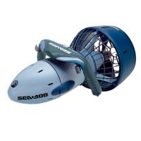 Seadoo Seascooter GTI - El SEA-DOO® SEA SCOOTER™ GTI, de una única velocidad, ofrece propulsión para alcanzar una velocidad de hasta 4km/h. El GTI es lo suficientemente ligero para llevarlo en una mano haciendo que las inmersiones en la playa se conviertan en una realidad y bucear con tubo un sueño, y con el circuito estanco, ¡su mantenimiento es muy sencillo!