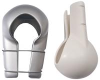 Protector para Crucetas Ocean Blanco - La primera y única cubierta flexible adaptable a todas las crucetas de 100 a 360 mm de diámetro..   Precio por unidad..   Las unidades de compra deben ser multiplos de 2.
