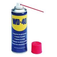 Aceite lubricante WD-40 - Resistente a la corrosión y humedad. Lubricante, aceite penetrante. Protege de la oxidación. Desbloquea engranajes mecánicos. Sin silicona ni aditivos que atraigan el polvo.