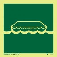 Señal Bote Salvavidas
