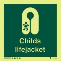 Señal Chaleco Salvavidas para Niños