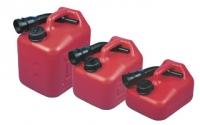 Deposito de Combustible Jerrycan Nuova Rade con vertedor - Empuñadura superior y refuerzo de la base para un buen agarre y un vertido fácil.