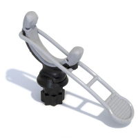Soporte de gancho Railblaza con brida elástica G-Hold 50 mm - Soporte de gancho de 50 mm con brida elástica que le permitirá sujetar todo tipo de elementos alargados