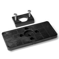 Base Railblaza TracPort Mounting Pad con patin Tracnut para carril - Placa para atornillar accesorios (incluye patín