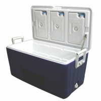 "Nevera portatil ""Sea Cool"", 80L - Ideal para uso en el barco, autocaravana o coche."