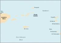 Carta Náutica Puerto Rico to St Christopher - Carta náutica A2. Puerto Rico to St Christopher. Passage Chart .   Edición inglesa.   Escala 1: 416.000