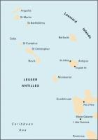 Carta Náutica Anguilla to Dominica - Carta náutica A3. Anguilla to Dominica. Passage Chart .   Edición inglesa.   Escala 1: 397.000