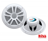 Juego 2 Altavoces Marinos 180W Boss MR6W - 6,5 - Altavoz empotrable de 6,5