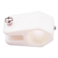 Abrazadera Nylon Blanco para Toldo 22mm - Accesorios para todillos.   Abrazaderade nylon blancopara Toldo.   Para tubo de 22mm.