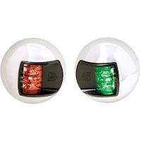 Juego luces de navegacion LED Inox ATTWOOD, para embarcaciones menores de 12 m. - Juego de luces de navegación LED 12 voltios, babor y estribor. para barcos de hasta 12 mts..   Cuerpo ABS y carcasaen aceroinoxidable..