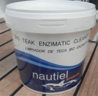 Bio teak enzimatic: Limpiador de teca bio enzimático Nautiel - Bio teak enzimatic es un producto profesional concebido para la limpieza de la madera de la forma más natural y ecológica que existe.
