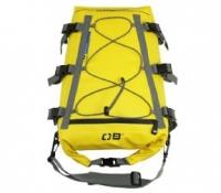 Bolsa Estanca para Kayak OverBoard - Cuenta con 6 cinchas para una perfecta sujeción y un trenzado de goma elástica en la parte superior de la bolsa.