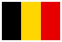 Bandera Belgica - Confeccionadas en tejido de poliéster brillante, estampado con colores sólidos y nítidos.