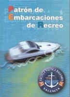 Patron de embarcaciones de recreo - J.L. Rodriguez, B. Anatol, V. Guerra, F. Sanchez