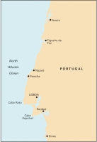 Carta Náutica Porto to Sines - Carta náutica C49. Porto to Sines.   Edición inglesa.   Escala 1: 350.000