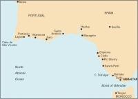 Carta Náutica Sines to Gibraltar - Carta náutica C50. Sines to Gibraltar.   Edición inglesa.   Escala 1: 350.000