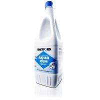 Aqua kem Blue. Liquido especial para WC quimicos 2L - Producto para el depósito de residuos.   Aqua Kem Blue es un aditivo para el depósito de residuos de inodoros muy potente y de fácil uso, el cual ofrece los mejores resultados para su inodoro Cassette y portátil.