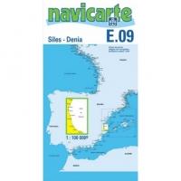 Carta Náutica Navicarte E09 - Siles - Denia