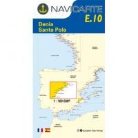 Carta Náutica Navicarte E10 - Denia - Santa Pola