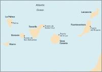 Carta Náutica Islas Canarias - Carta náutica E2. Islas Canarias.   Edición inglesa.   Escala 1: 598.000