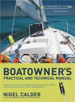 Boatowners Practical and Technical Cruising Manual - Nigel Calder