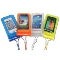 Bolsa estanca O´WAVE para Smartphone - Funda estanca IPX8 para Smartphone, fabricada en PVC de colores surtidos..   Cierre y apertura rápida con presilla y triple zip aseguran la estanqueidad..   Dimensiones: 19 x 10 cm